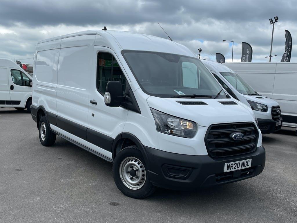 2020 Ford Transit Panel Van with 4,715 miles