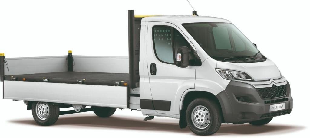 2021 Citroen Relay Dropside with 5 miles