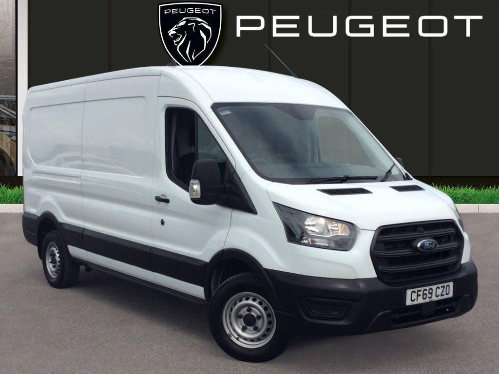 2020 Ford Transit Panel Van with 27,521 miles