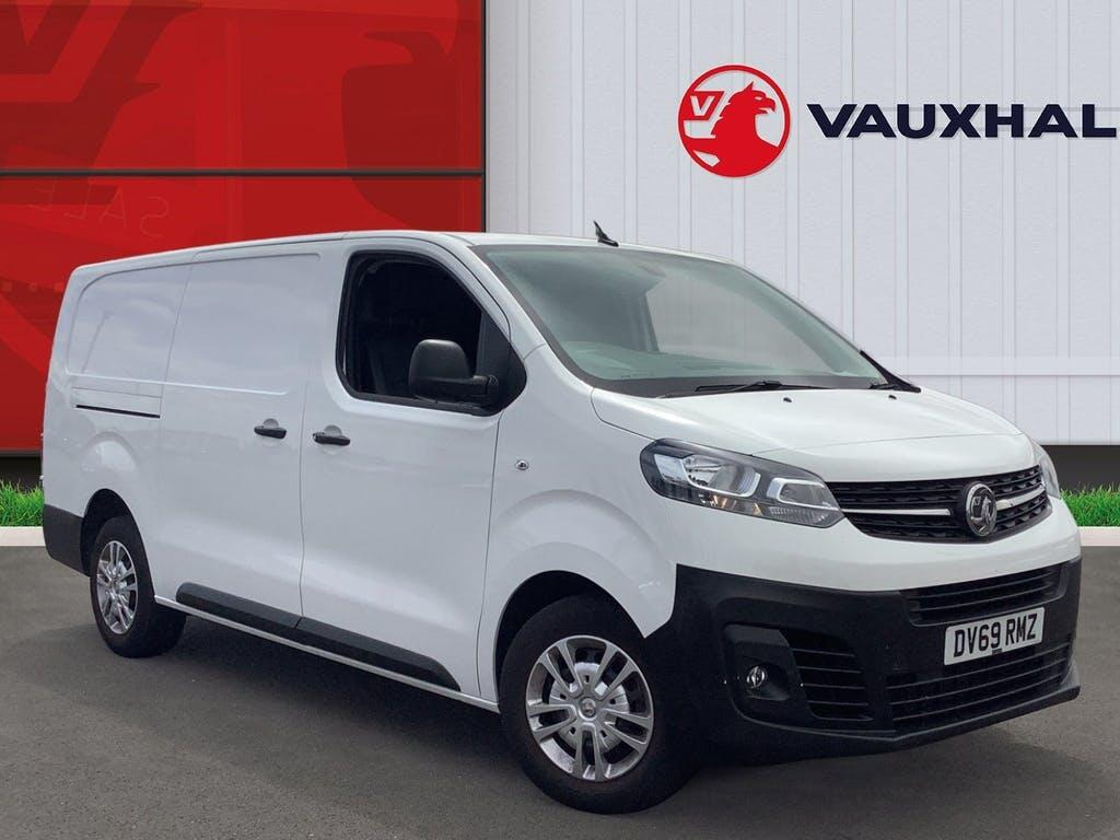 2019 Vauxhall Vivaro Panel Van with 27,489 miles