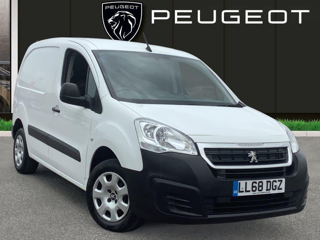 2018 Peugeot Partner Panel Van with 39,507 miles