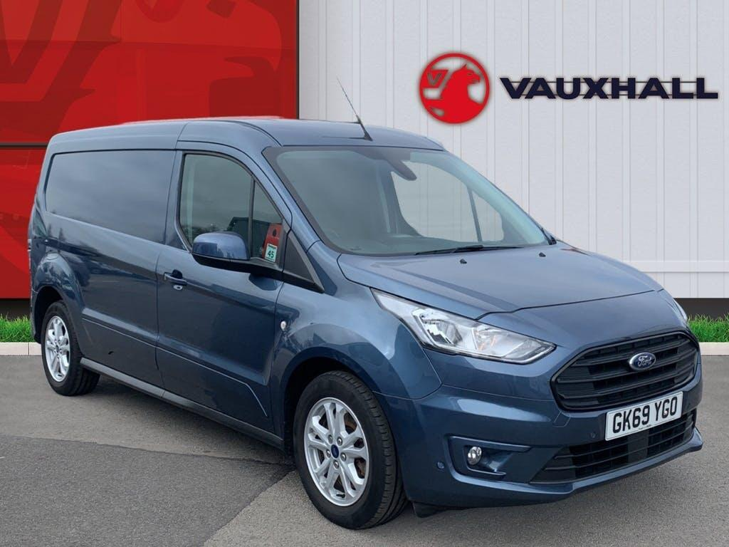 2019 Ford Transit Connect Panel Van with 10,866 miles