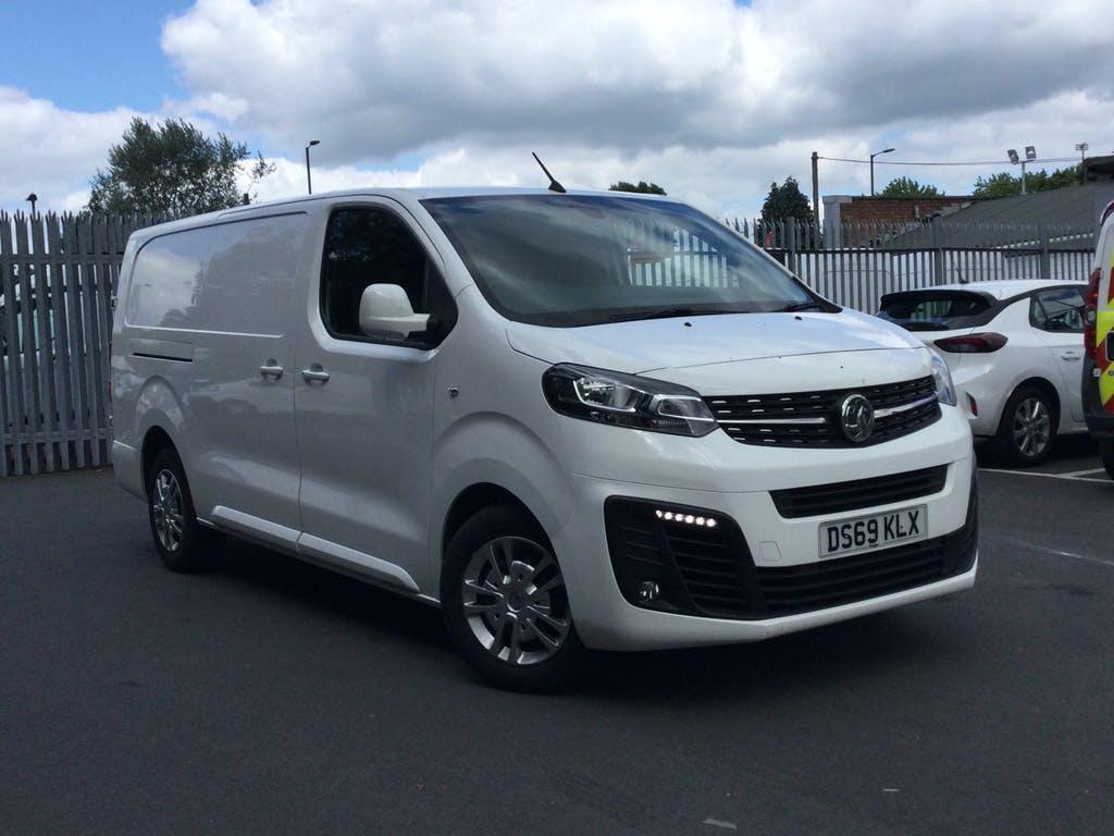 2019 Vauxhall Vivaro Panel Van with 28,896 miles