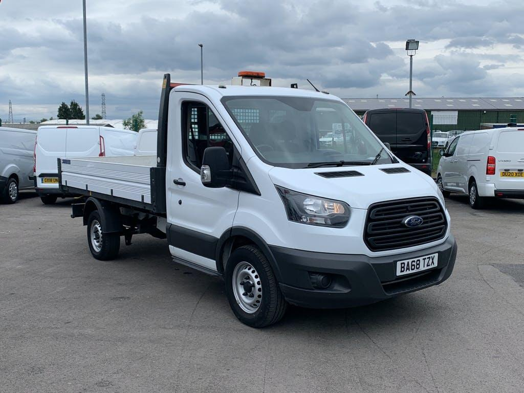 2019 Ford Transit Tipper with 29,554 miles