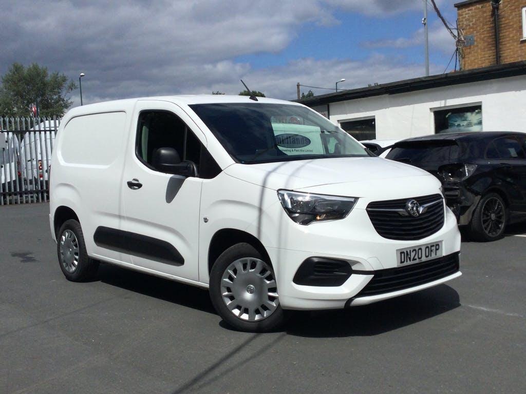 2020 Vauxhall Combo Panel Van with 23,181 miles