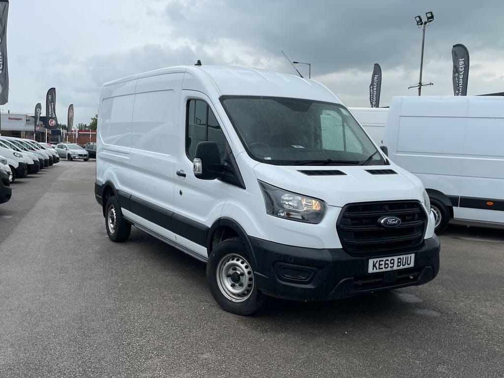 2020 Ford Transit Panel Van with 19,350 miles