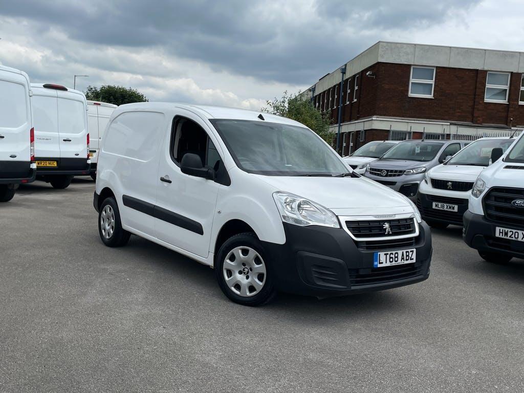 2018 Peugeot Partner Panel Van with 46,048 miles
