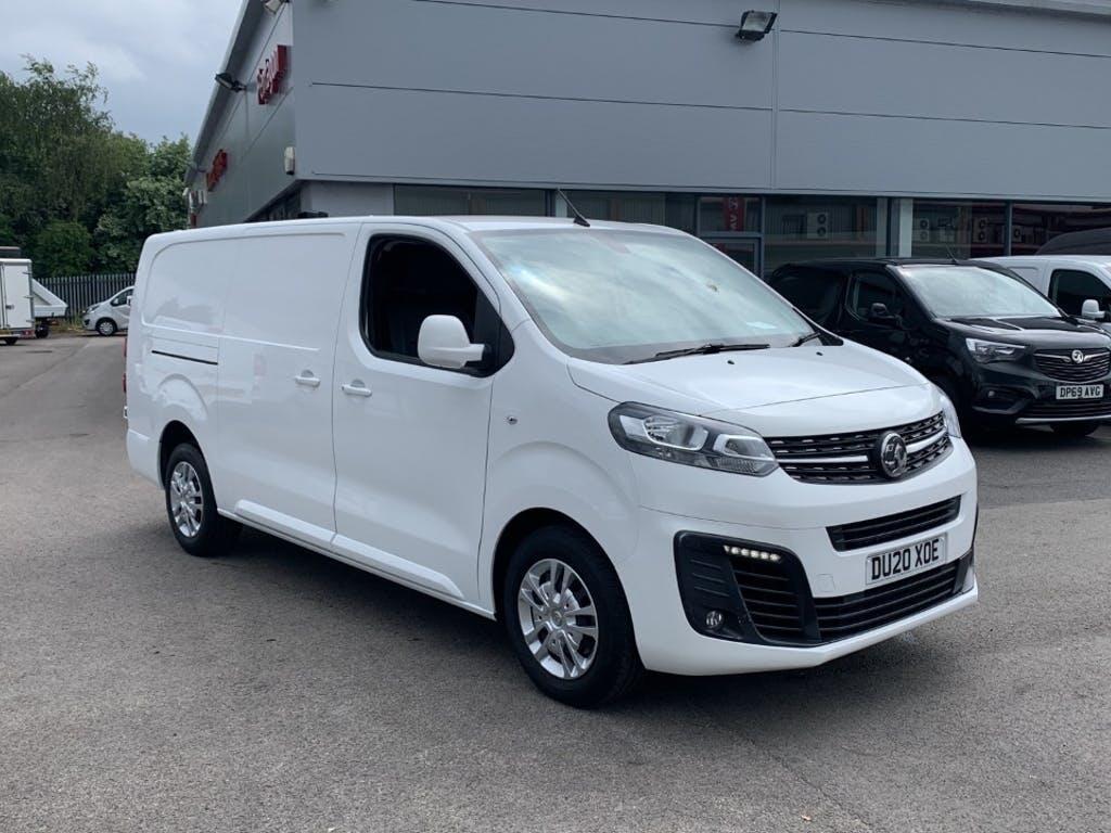 2020 Vauxhall Vivaro Panel Van with 19,196 miles