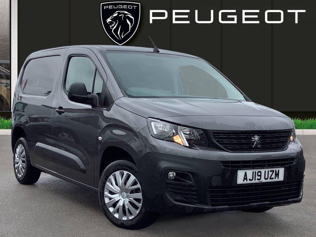2019 Peugeot Partner Panel Van with 26,140 miles