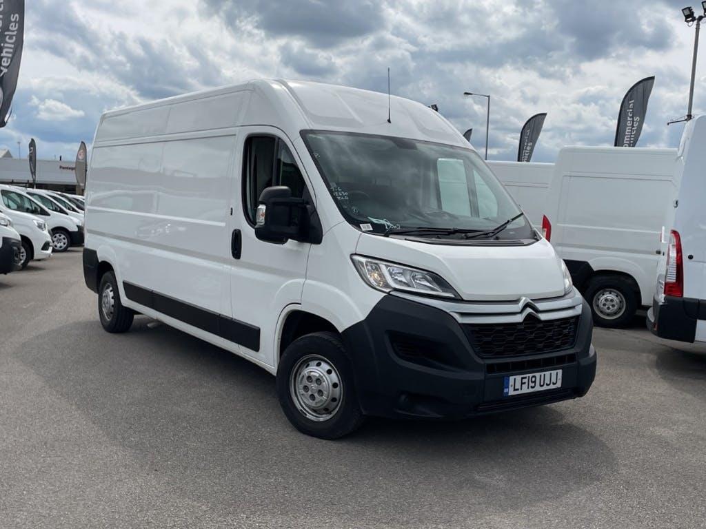2019 Citroen Relay Panel Van with 12,664 miles