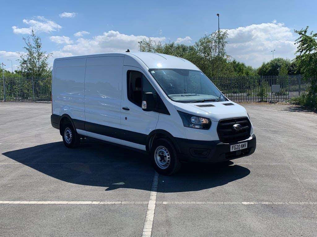 2020 Ford Transit Panel Van with 15,192 miles