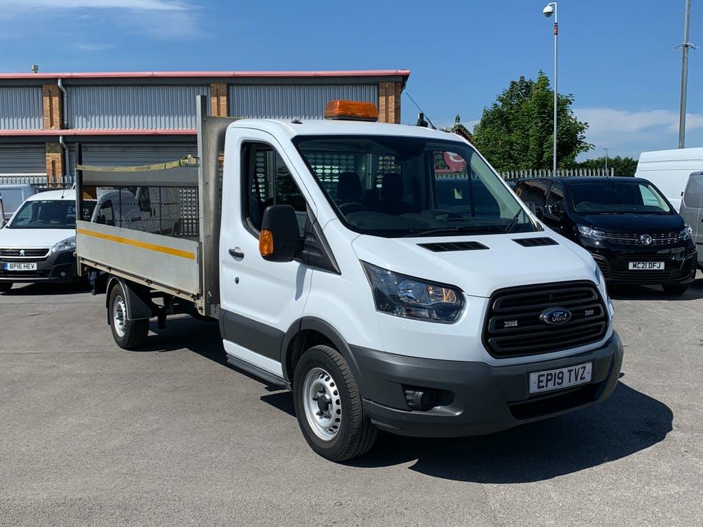2019 Ford Transit Dropside with 41,531 miles