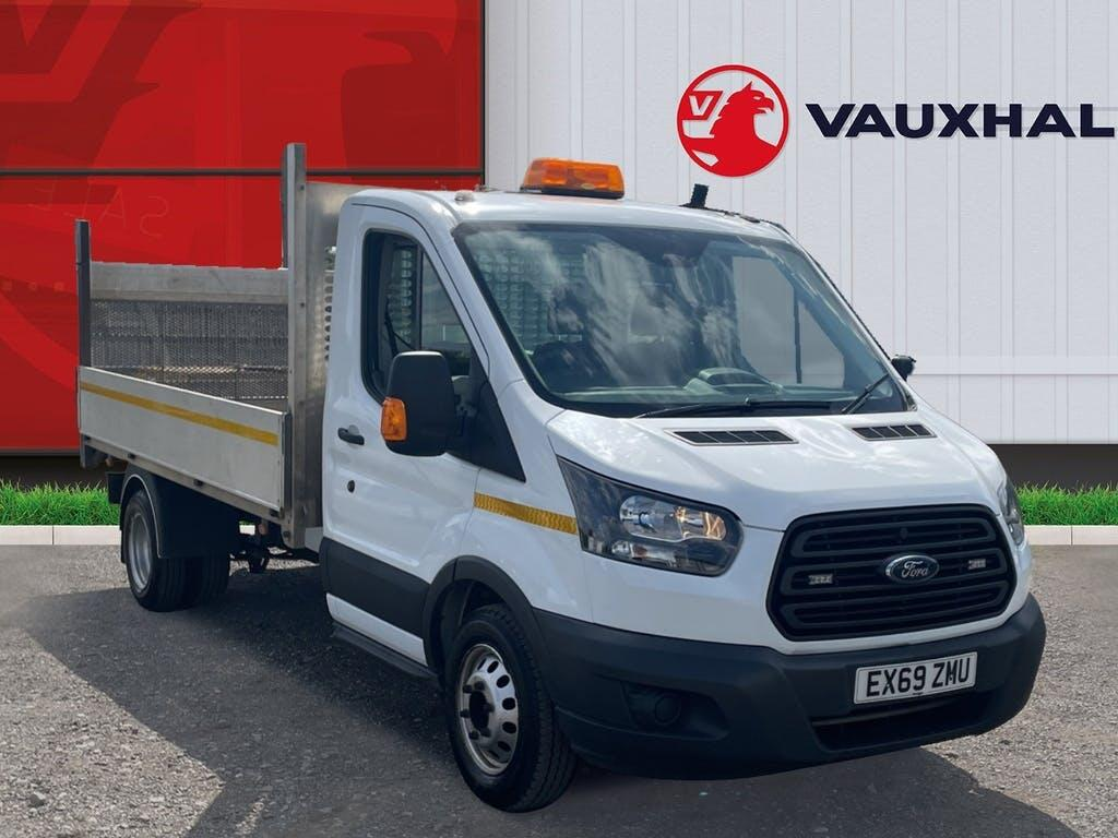 2019 Ford Transit Dropside with 43,477 miles