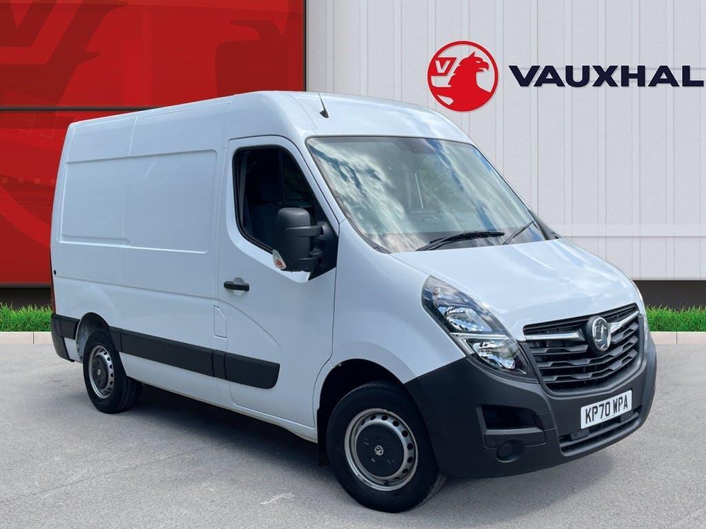 2020 Vauxhall Movano Panel Van with 11,400 miles