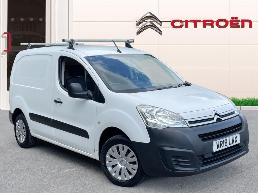 2018 Citroen Berlingo Van Panel Van with 49,119 miles