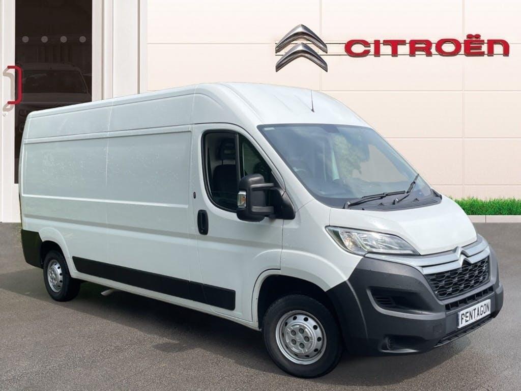 2019 Citroen Relay Panel Van with 4,620 miles
