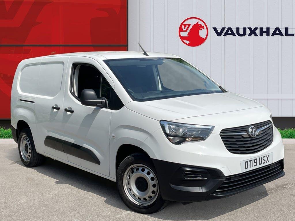 2019 Vauxhall Combo Panel Van with 22,554 miles