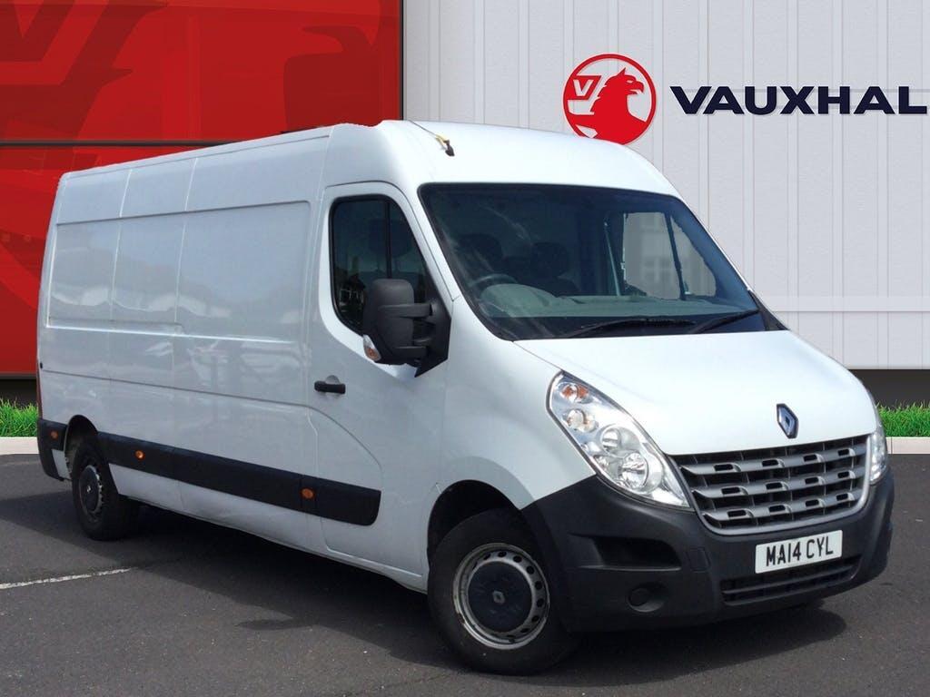 2014 Renault Master Panel Van with 80,742 miles