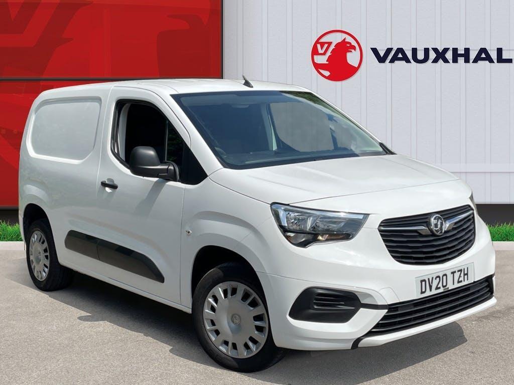2020 Vauxhall Combo Panel Van with 25,562 miles