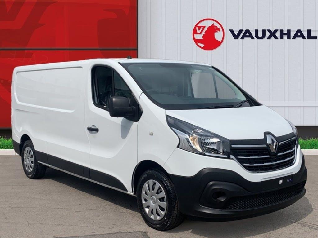 2021 Renault Trafic Panel Van with 25 miles