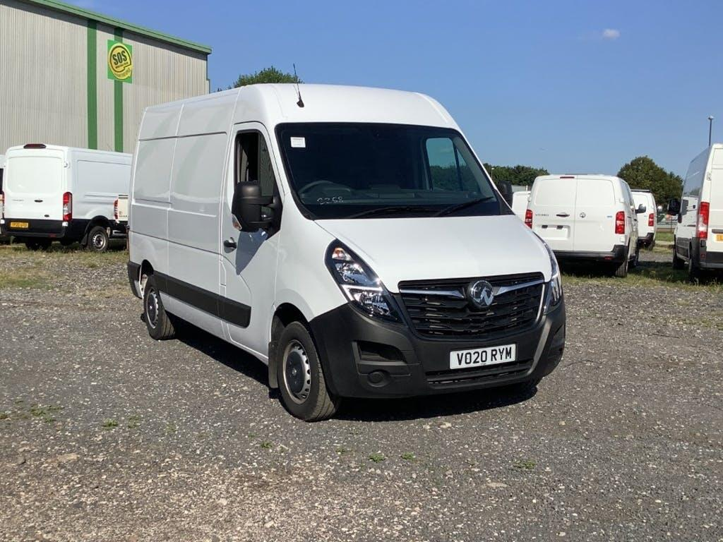 2020 Vauxhall Movano Panel Van with 8,226 miles