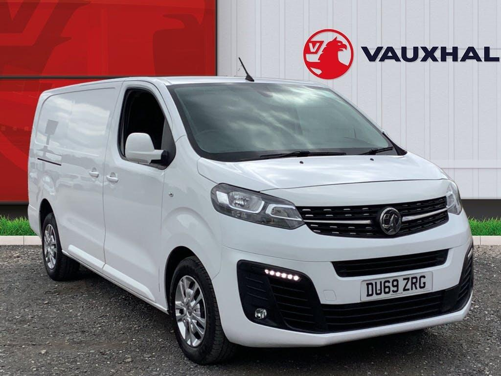 2019 Vauxhall Vivaro Panel Van with 30,795 miles