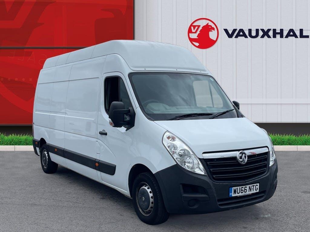 2016 Vauxhall Movano Panel Van with 40,804 miles