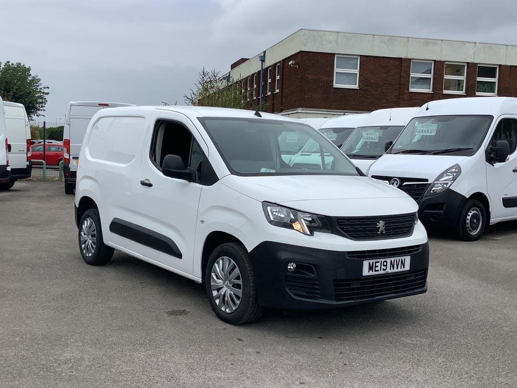 2019 Peugeot Partner Panel Van with 39,219 miles