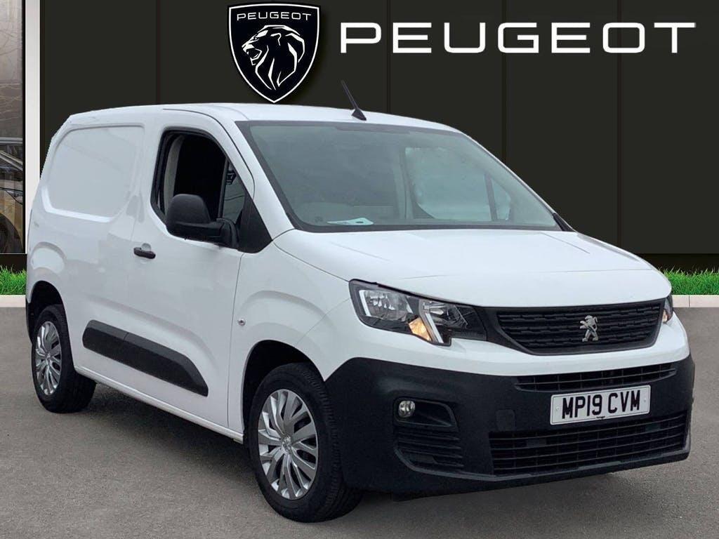 2019 Peugeot Partner Panel Van with 49,177 miles