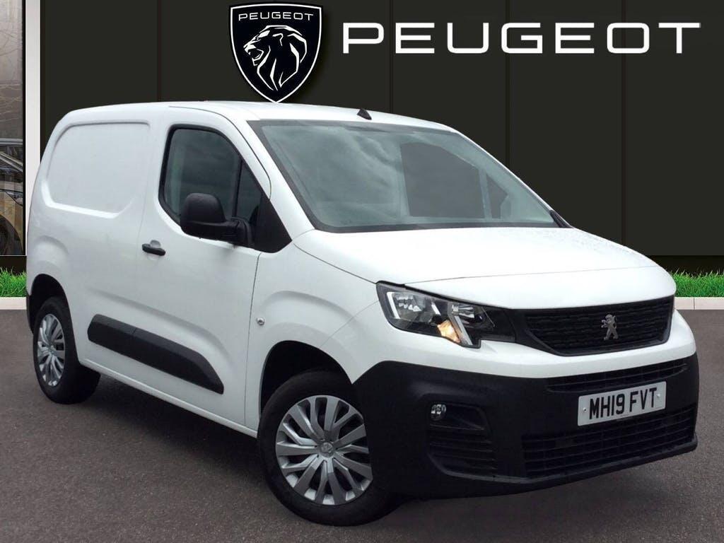 2019 Peugeot Partner Panel Van with 44,356 miles