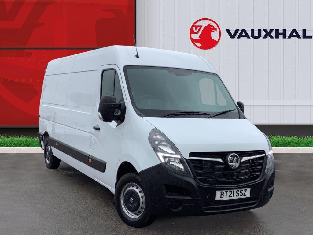 2021 Vauxhall Movano Panel Van with 26 miles