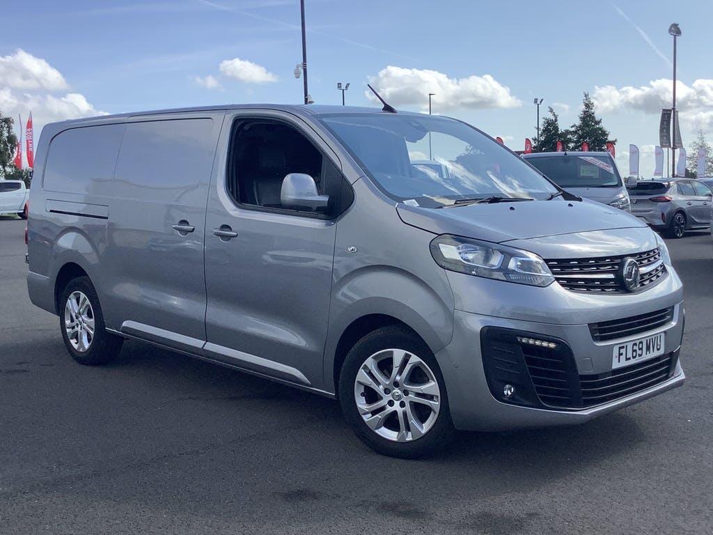 2019 Vauxhall Vivaro Panel Van with 34,914 miles