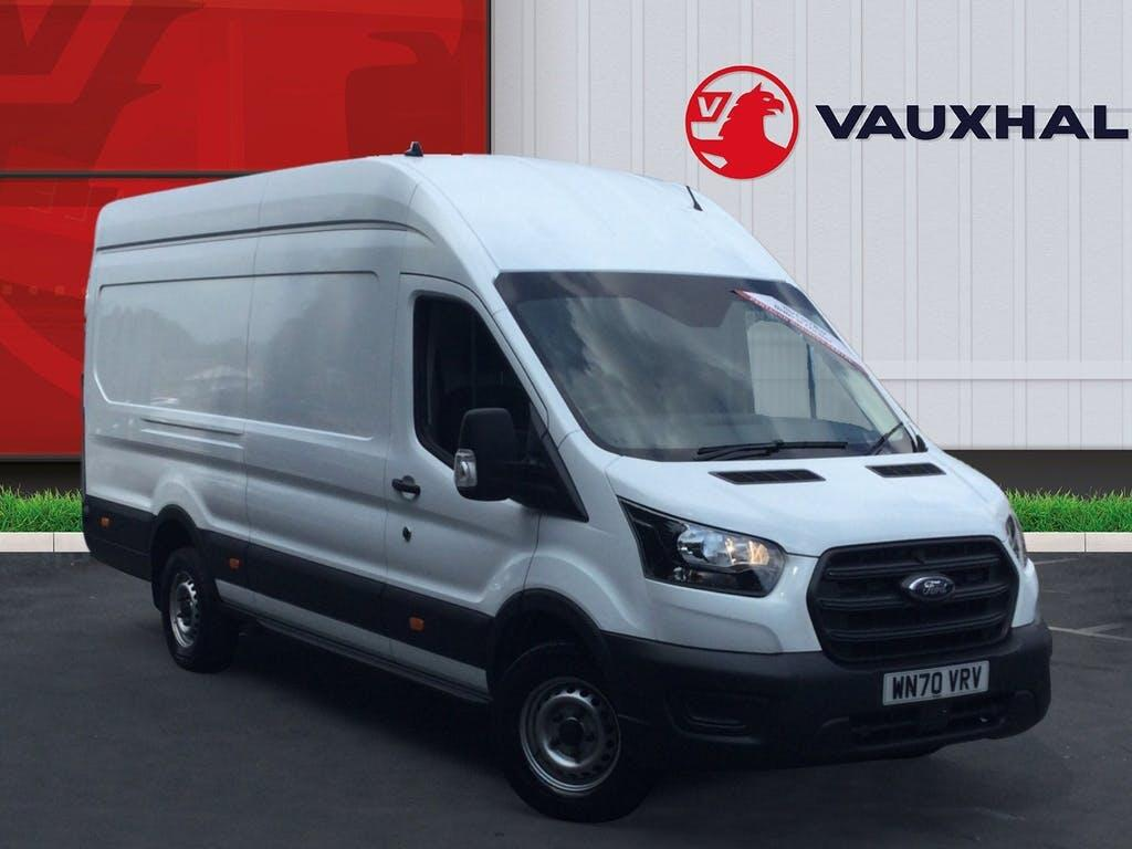 2020 Ford Transit Panel Van with 5,229 miles