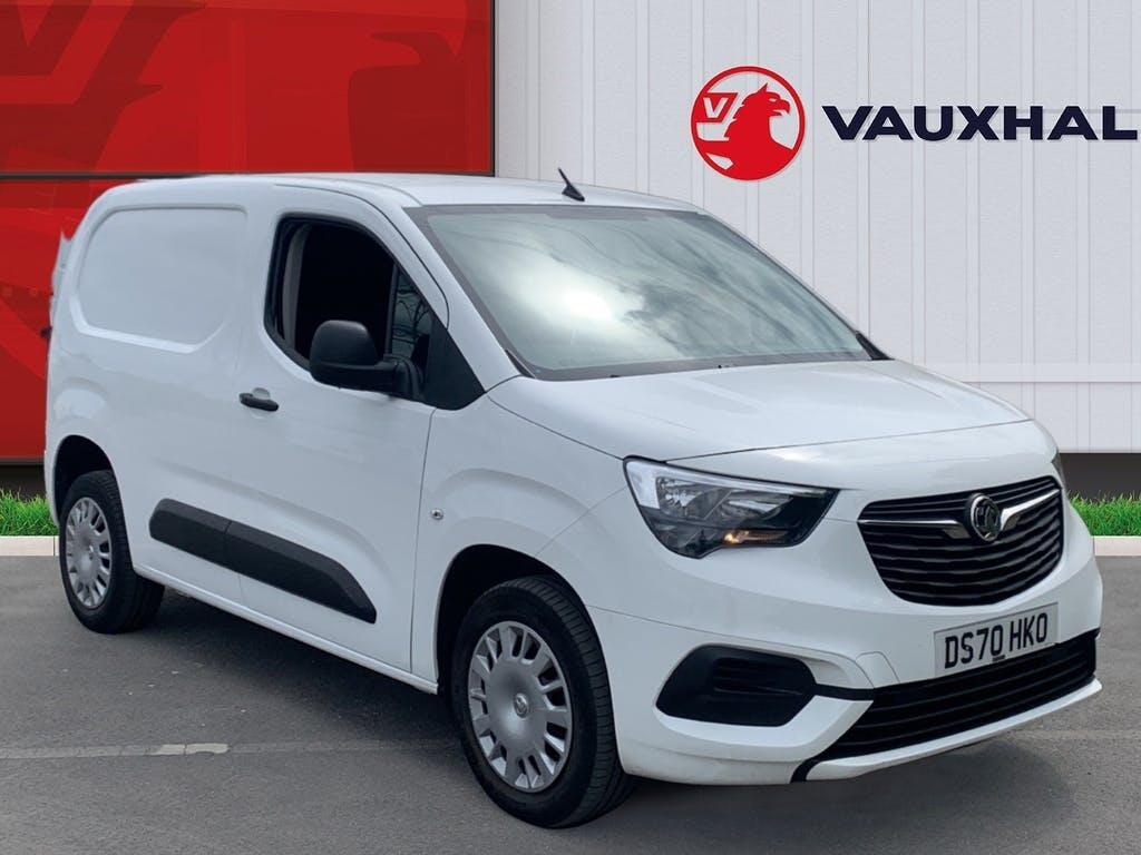 2020 Vauxhall Combo Panel Van with 18,478 miles