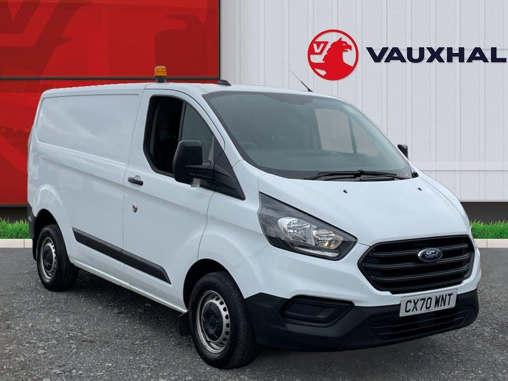 2020 Ford Transit Custom Panel Van with 24,324 miles