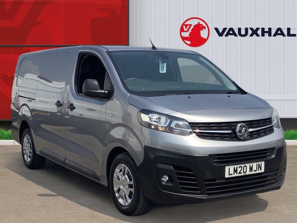 2020 Vauxhall Vivaro Panel Van with 21,790 miles
