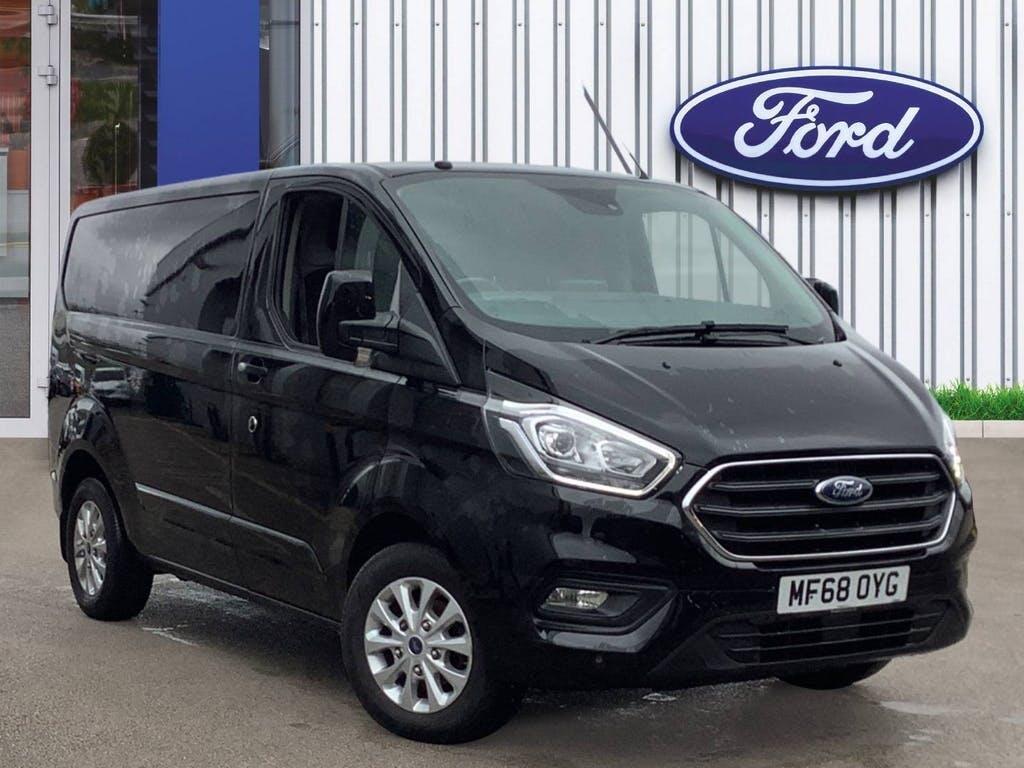 2018 Ford Transit Custom Panel Van with 30,000 miles