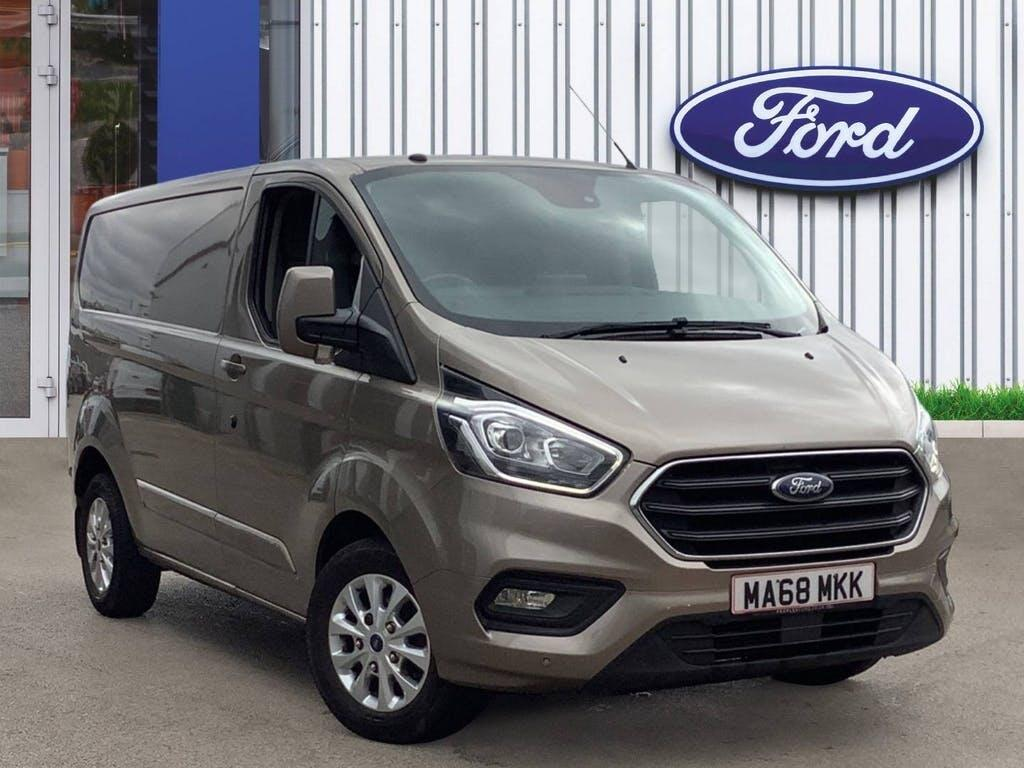 2018 Ford Transit Custom Panel Van with 41,000 miles