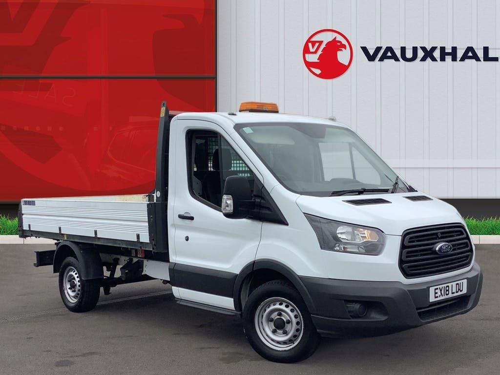 2018 Ford Transit Tipper with 13,321 miles