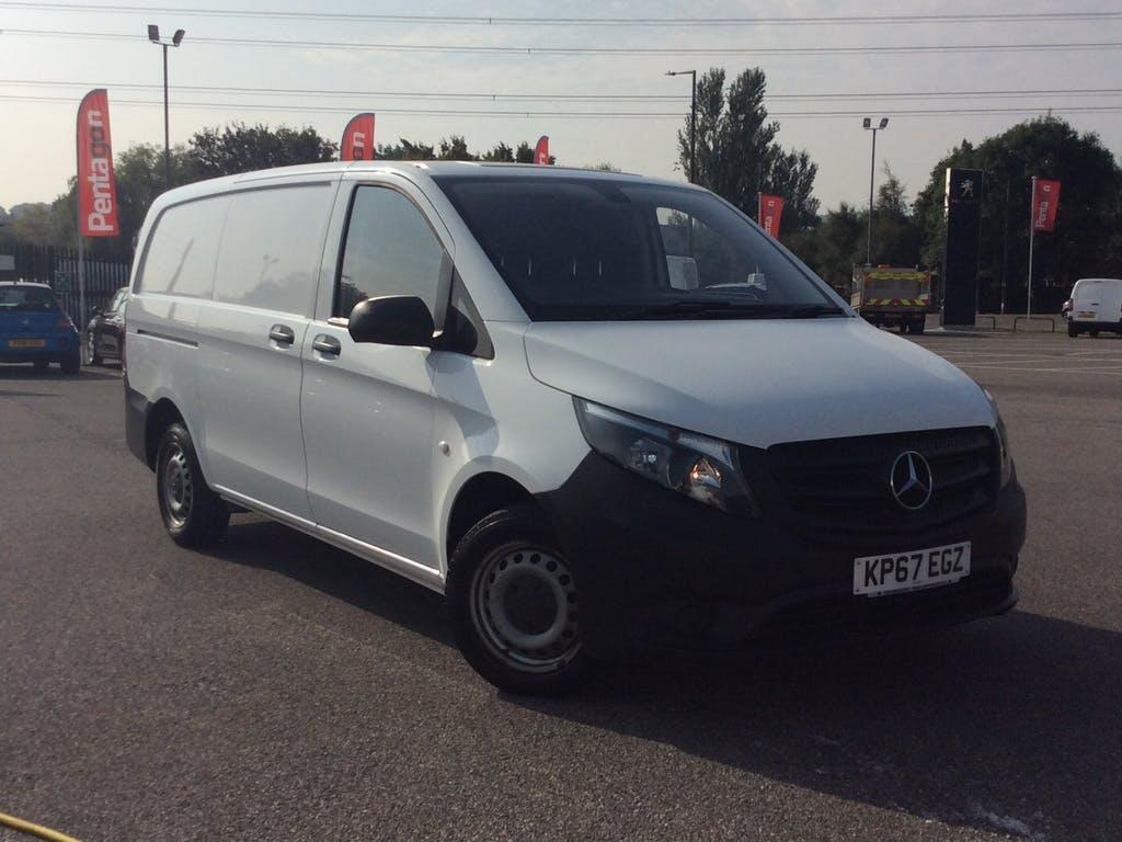 2017 Mercedes Benz Vito Panel Van with 53,999 miles