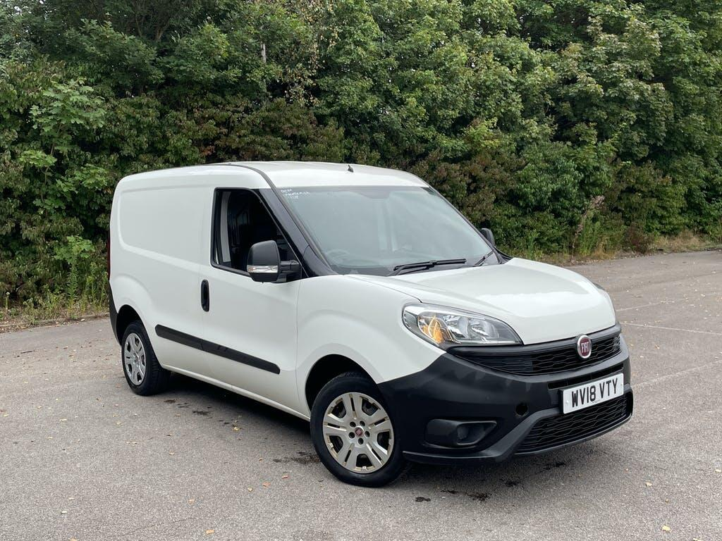 2018 Fiat Doblo Van Panel Van with 43,506 miles