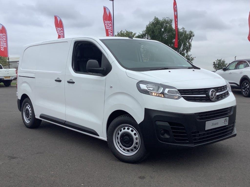 2021 Vauxhall Vivaro Panel Van with 4,999 miles