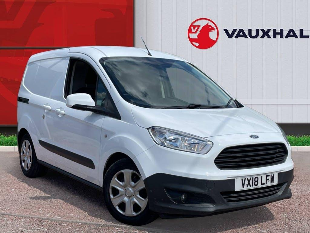 2018 Ford Transit Courier Panel Van with 35,586 miles