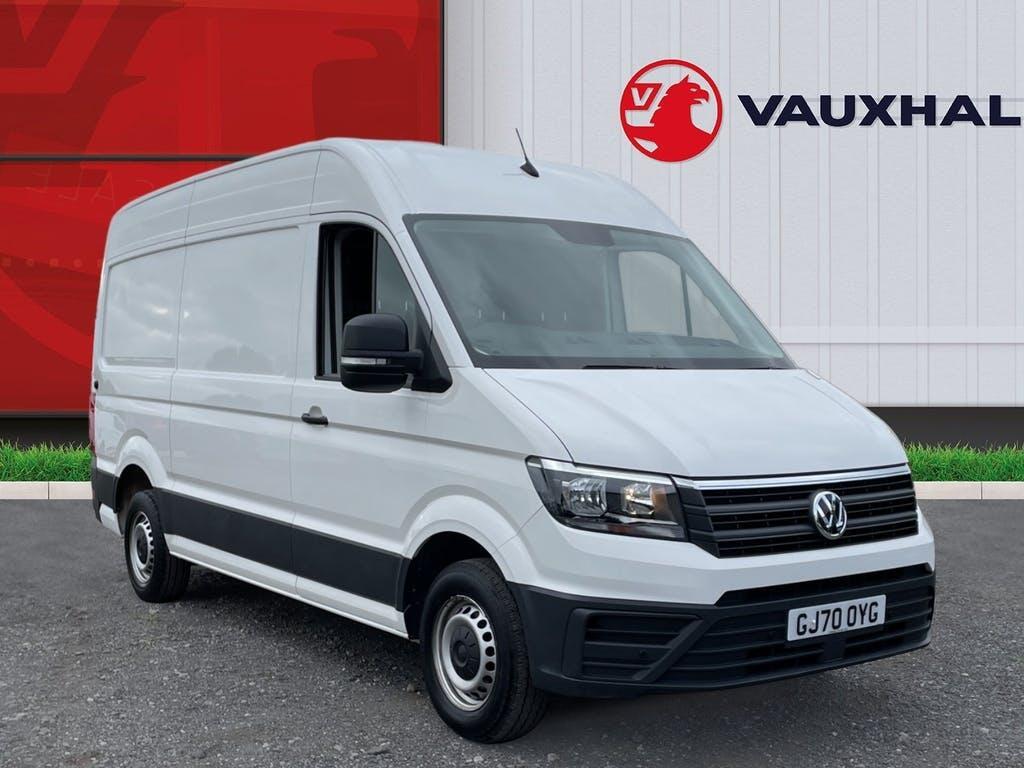 2020 Volkswagen Crafter Panel Van with 11,989 miles