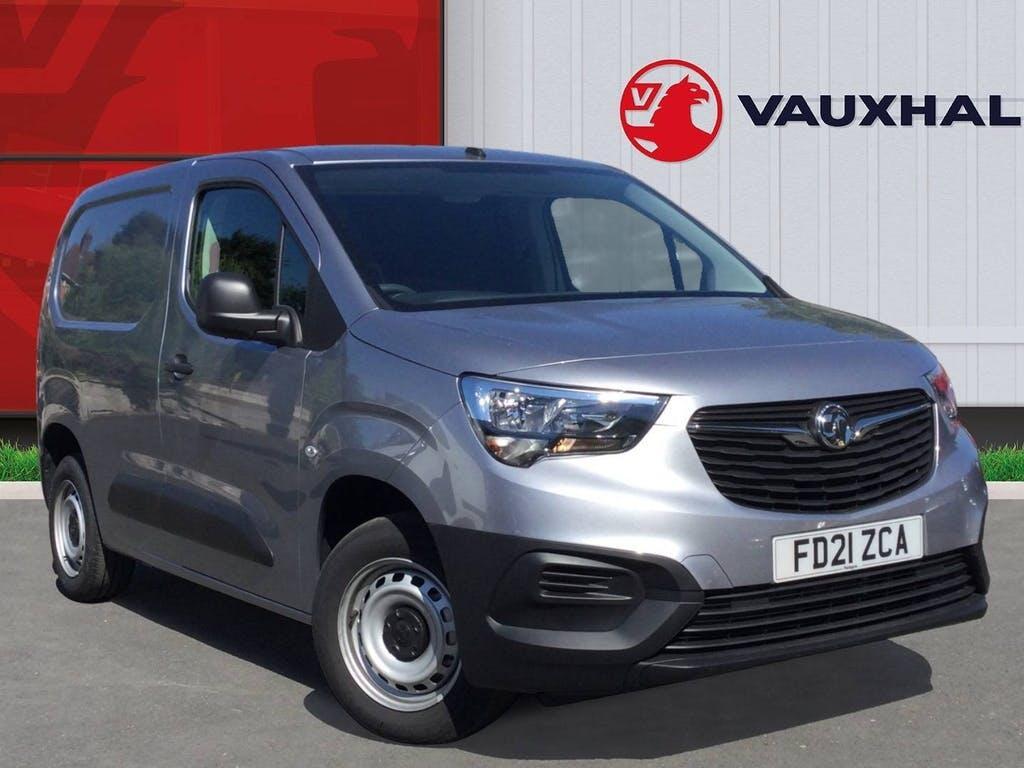 2021 Vauxhall Combo Panel Van with 2,495 miles