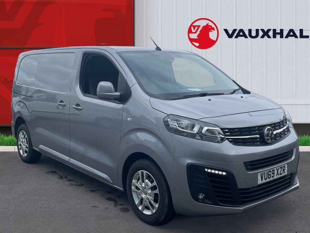 2019 Vauxhall Vivaro Panel Van with 17,060 miles