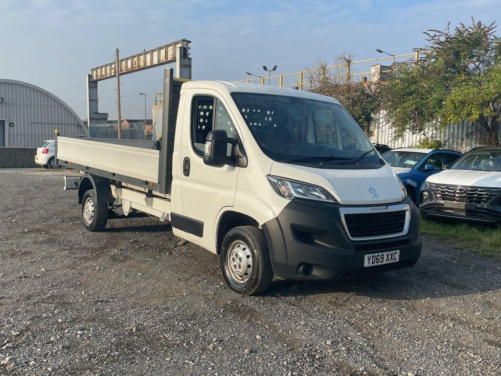 2019 Peugeot Boxer Dropside with 61,846 miles