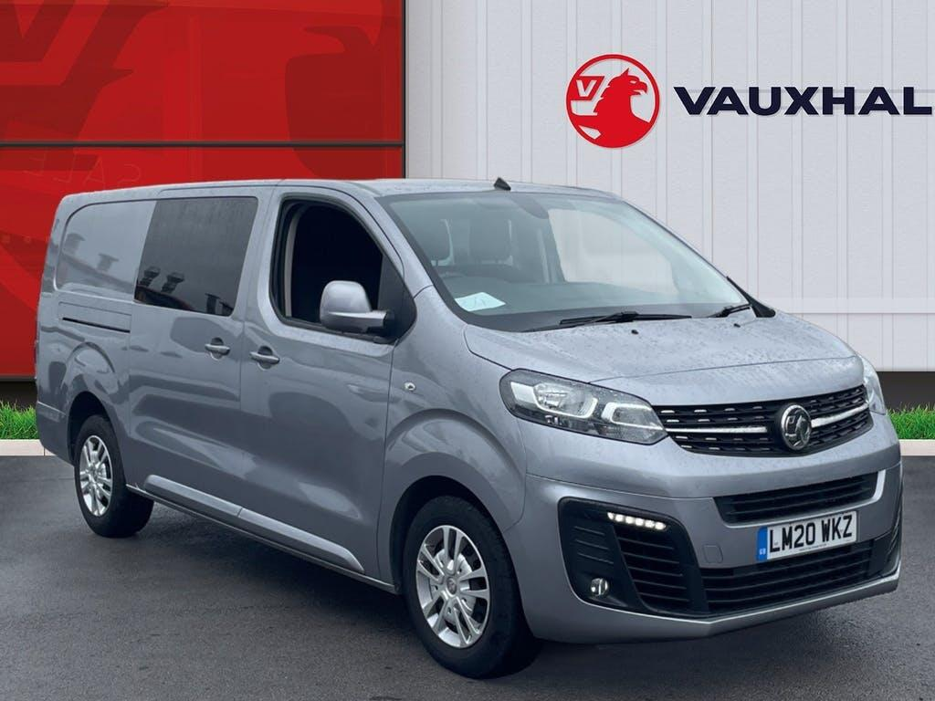2020 Vauxhall Vivaro Combi Van with 13,439 miles