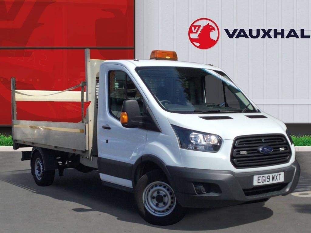 2019 Ford Transit Dropside with 45,999 miles